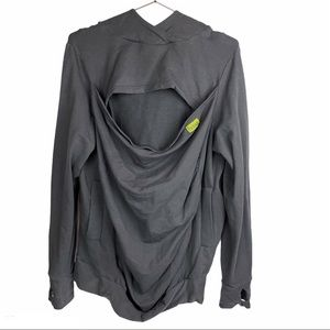 Boba Baby Carrier Hoodie Gray